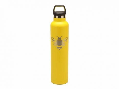 custom RTIC 26oz water Bottles - yellow (RelayBatons.com)