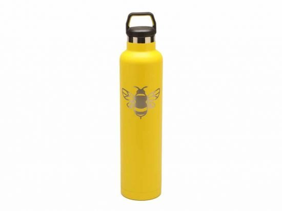 custom RTIC 26oz water Bottles – yellow (RelayBatons.com)