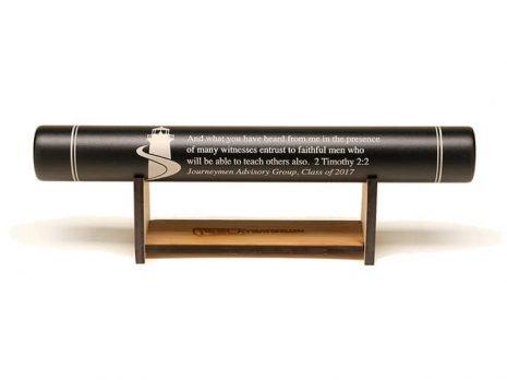 Custom Bamboo Baton Stand (RelayBatons.com)