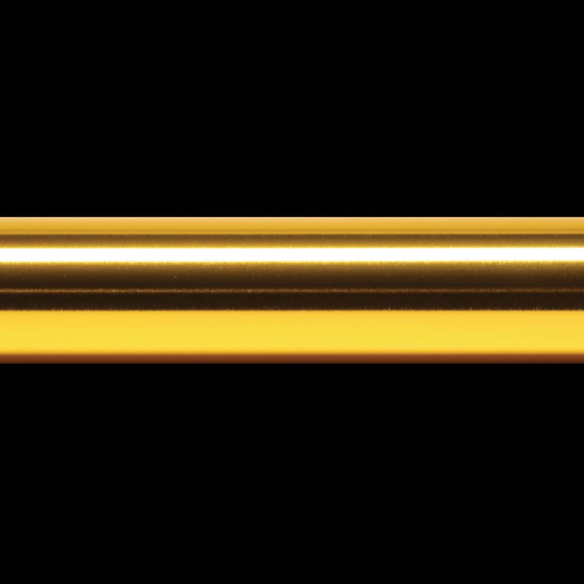 Sample Baton Base Color - Glossy Gold