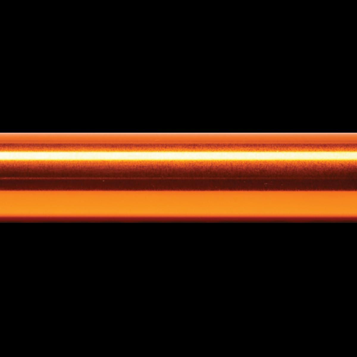 Sample Baton Base Color - Glossy Orange