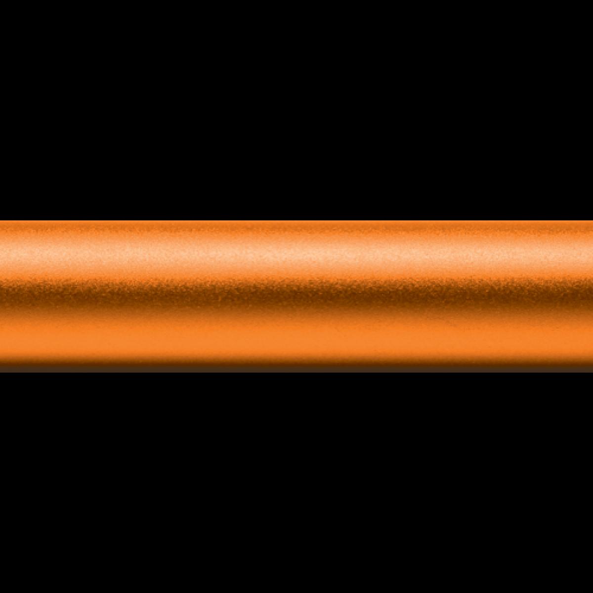 Sample Baton Base Color - Matte Orange