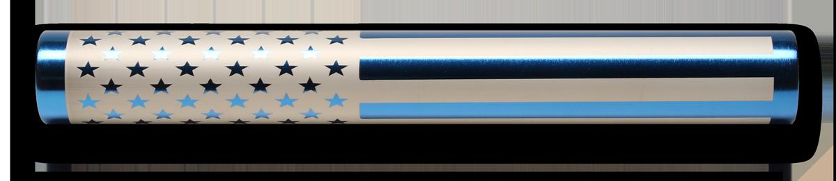 Blue baton - (RelayBatons.com)