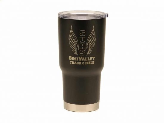 Track and Field Tumbler (RelayBatons.com)
