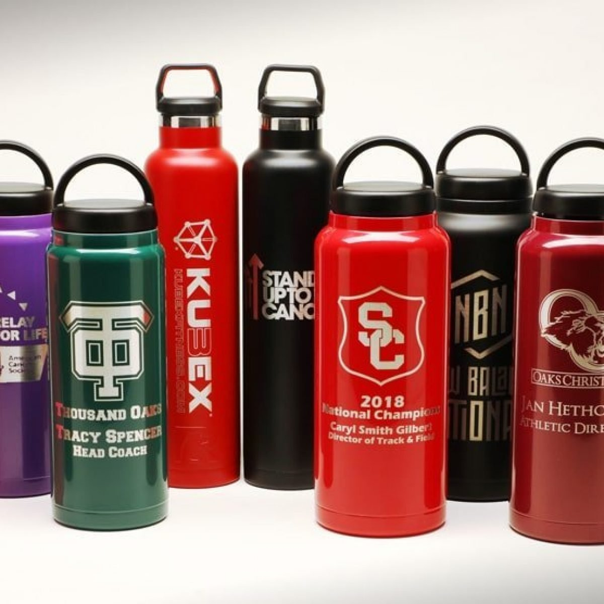 RTIC Tumblers and Water Bottles various sizes (RelayBatons.com)
