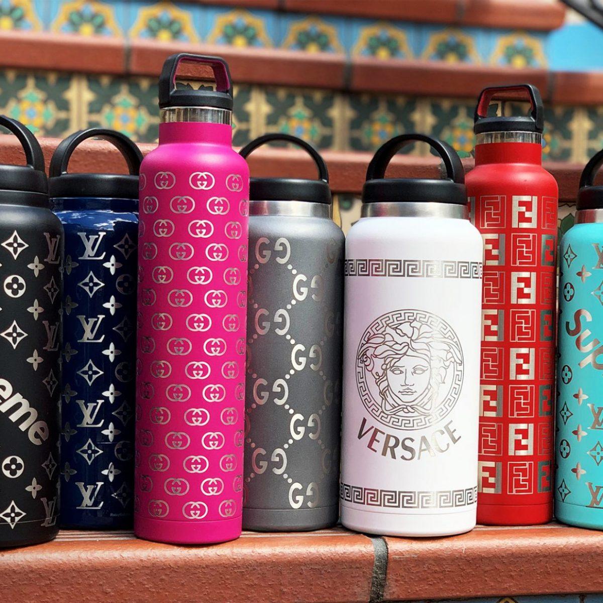 Custom Supreme Water Bottles (RelayBatons.com)